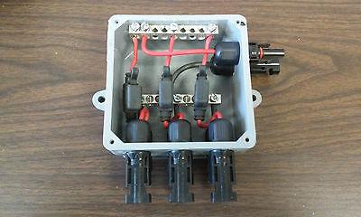 Solar Panel Combiner Box R 3 x 1