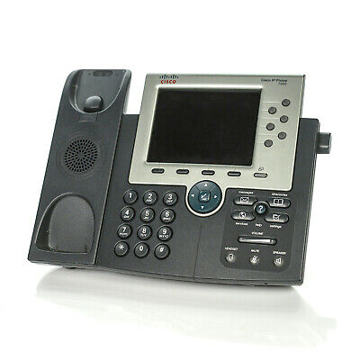 Cisco 7965 IP Office Phone Color LCD w// Handset and Stand FREESHIPPING