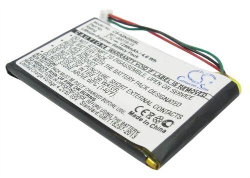 Batería Recargable del Reino Unido CE Rohs Garmin Nuvi 205 0 1250 Mah li-pl