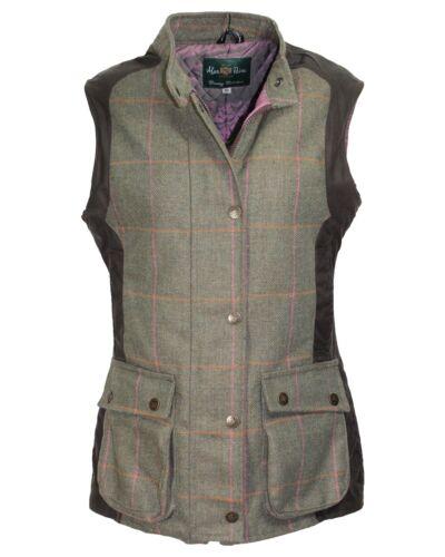 Alan Paine Femme Tweed//cire coton veste-a été £ 140 Maintenant £ 49.99