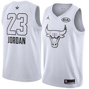 New Jordan Brand Chicago Bulls Michael Jordan 2018 NBA All Star Swingman Jersey