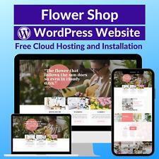 Flower Shop Business Affiliate Website Store Free Cloud Hostinginstallation