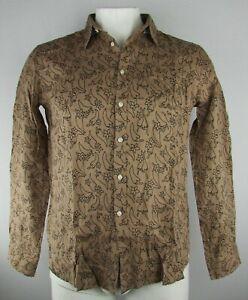 Vilebrequin Men/'s Button Down Long Sleeve Shirt