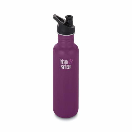 27 oz Klean Kanteen Klassische Flasche Winterpflaume mit Sportkappe 800 ml