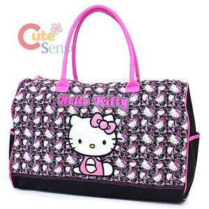 43d58da13d3e Hello Kitty Duffle Bag Travel Gym Bag 20