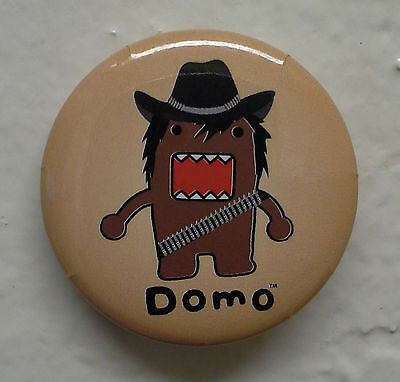 """BRAND NEW Outlaw Domo kun 1.25"""" Button Pin ~ Officially Licensed"""
