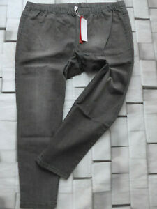 Sheego-Jeans-Trousers-Jeggings-Stretch-Grey-Size-40-to-58-Elastic-plus-669