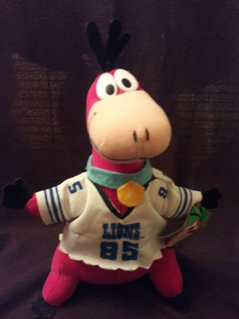 Play By Play Flintstones Dino Nfl Detroit Lions Plush Ebay