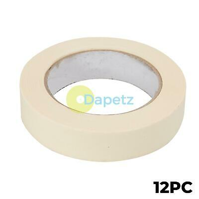 38mm or 48mm Low Tack Solvent Free Masking Tape 50m in 25mm