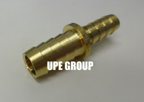 1//2 X 3//8  Hose Barb Mendor Union Splicer Brass Pipe Fitting Gas Fuel Water Air
