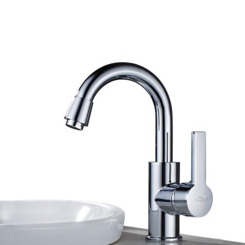 Badarmatur Waschtischarmatur Wasserfall Wasserhahn Waschbecken Mischbatterie