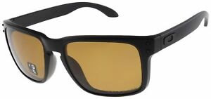 5dde6eb8062 Oakley Holbrook Sunglasses With Matte Black Frame and Bronze Polarized