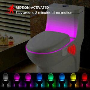Led Toilet Bathroom Night Light Pir