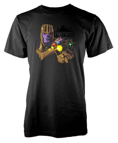 Adult Gaming Thanos infinity gauntlet dark print t shirt