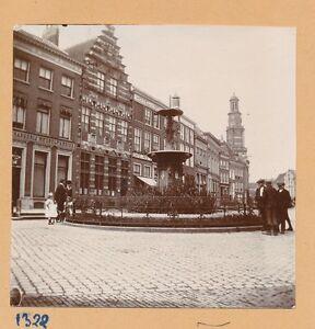 ZUTPHEN c. 1900 - Population Fontaine Houtmarkt Pays Bas - FD Hol 118 0DTrJDYy-09152413-375291629