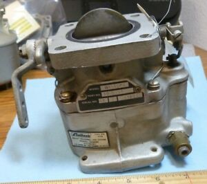 Details about Lycoming MA-4SPA CARBURETOR p/n 10-5135 (s/n 3484T) Aircraft