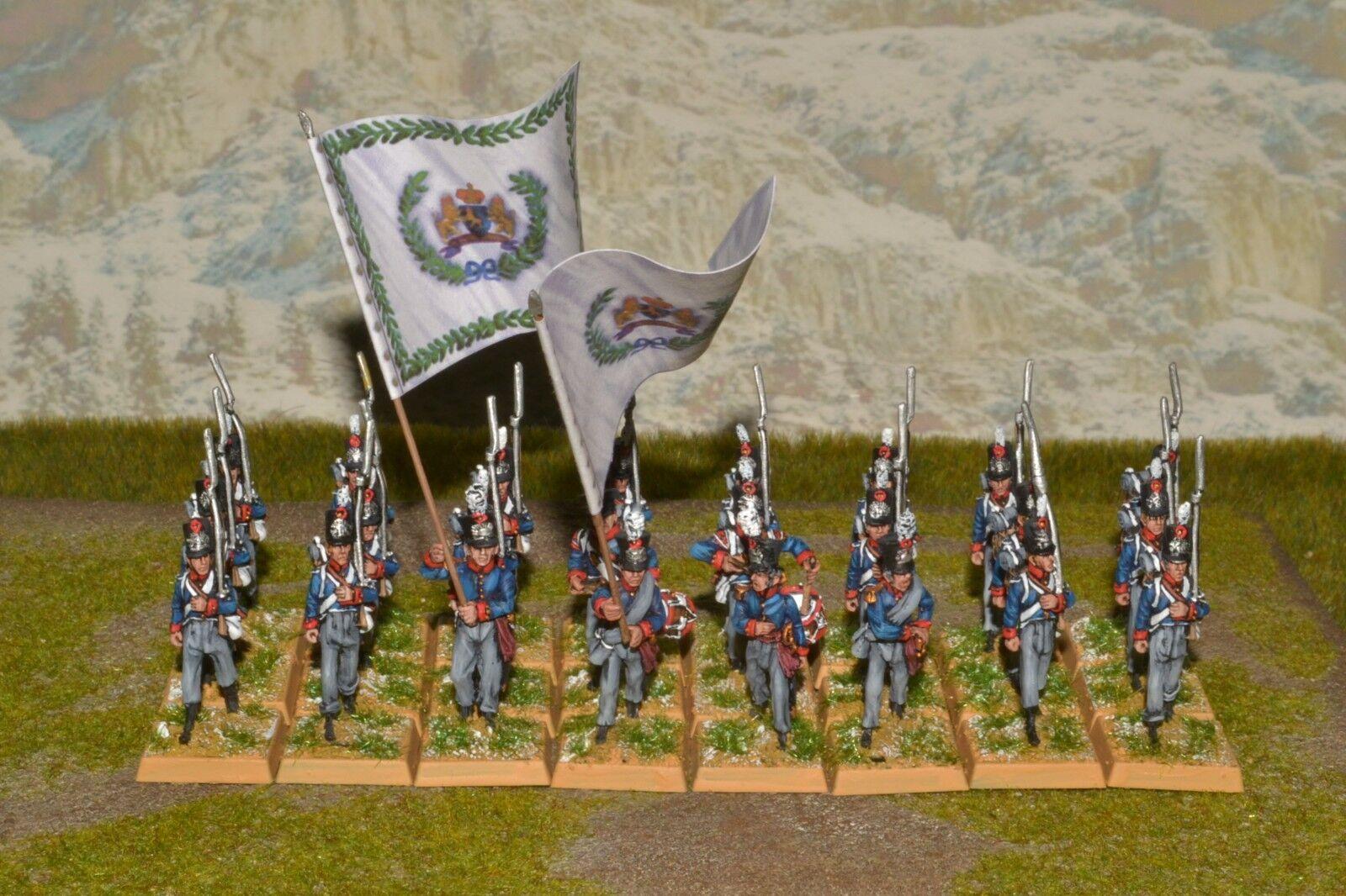 1 56 28mm del Departamento de Seguridad Pública Pintada napoleonice guerras holandés Batallón de Infantería de Línea 5th RC181