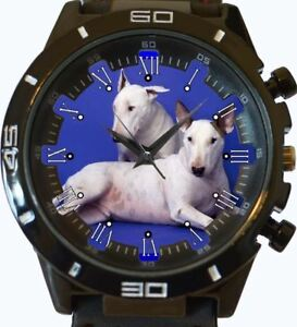 Bull-Terrier-Blanco-PAREJA-NUEVO-SERIE-GT-DEPORTIVO-UNISEX-REGALO