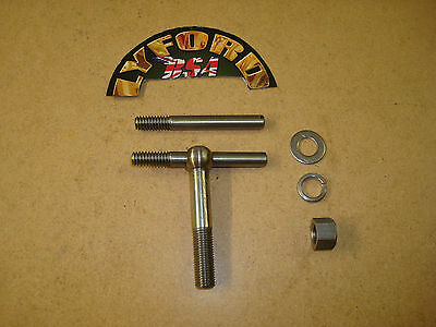 BSA A7, A10, RGS S/STEEL DYNAMO STRAP EYE BOLT, NUT & SCREWS