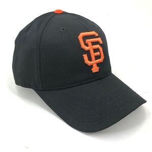 San-Francisco-Giants-Outdoor-Cap-Talla-Adulto-Strapback-Gorra-Negro-Naranja-Logo
