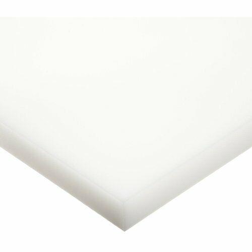 "UHMW Plastic Sheet Natural 24/"" x 48/"" x 1//16/"" Thick Nominal"