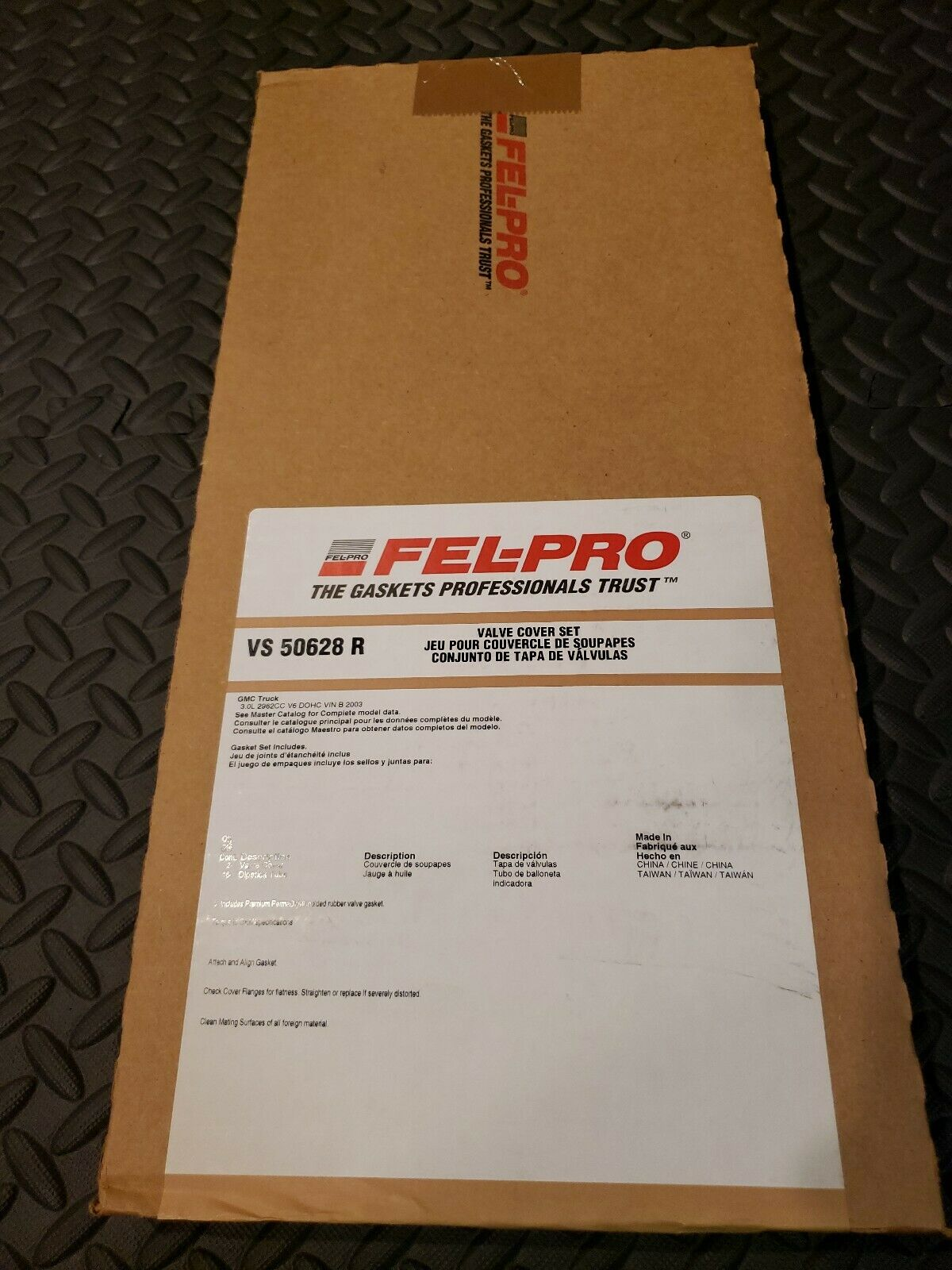 Engine Sealing ge Fel-Pro VS 50628 R Valve Cover Gasket Set FelPro VS50628R