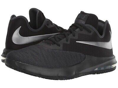 Nike AIR MAX INFURIATE III LOW Mens BlackMetallic Dark Grey AJ5898 007 Shoes | eBay