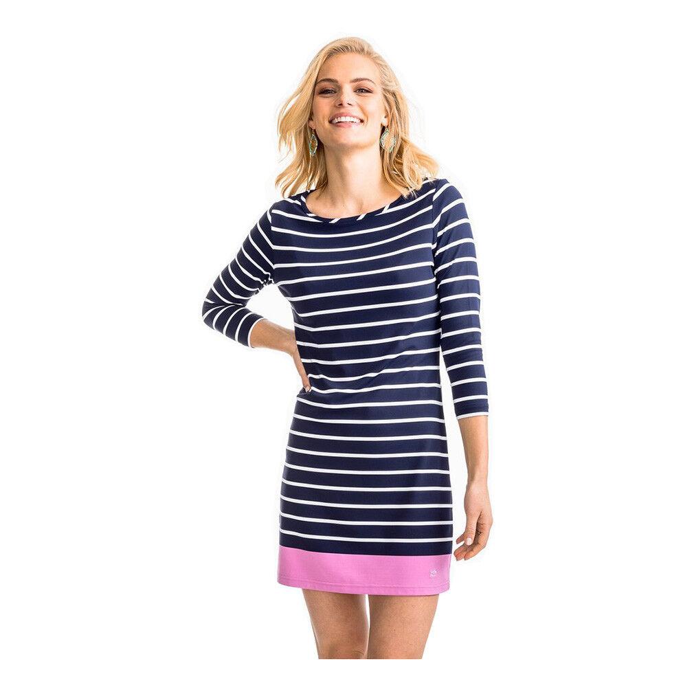 Southern Tide Women's Coastline Stripe Knit Dress