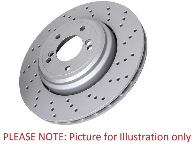 PEUGEOT RCZ 2.0D 2x Brake Discs Pair Vented Front 2010 on 340mm Set B/&B New