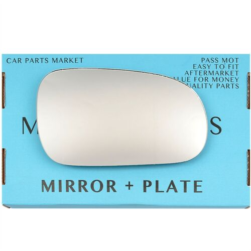 Right Driver Side Wing Door Mirror Glass for HONDA Accord 1998-03 Plaque