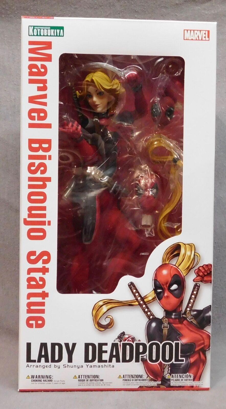 Marvel - lady für deadpool bishoujo statue - kotobukiya