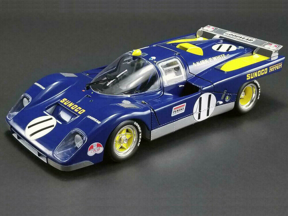 ACME 1 18 Ferrari 1971 24 H DU MANS 512 M Donohue SUNOCO Diecast M1801001