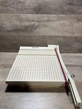 Boston 2612 Paper Cutter 12 Trimmer Heavy Duty Includes Manual Works Great