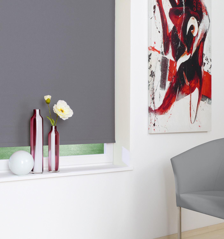 Kettenzug-Verdunklungsrollo Anthrazit Thermo Alu Fenster Seitenzug Rollo Deko | Shopping Shopping Shopping Online  3496de
