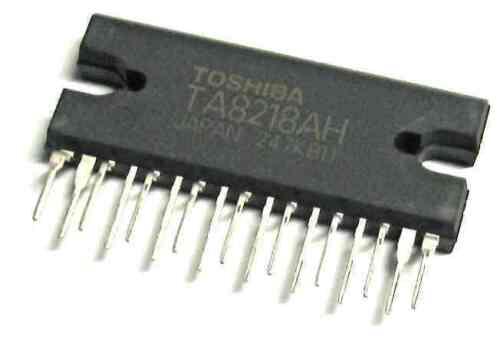 "Circuito TA8218AH TOSHIBA IINTEGRATED /""empresa del Reino Unido desde 1983 Nikko/"""