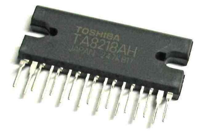TA8218AH TOSHIBA Diascopique Circuit '' GB Compagnie SINCE1983 Nikko ''