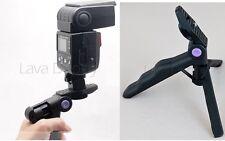 DSLR Flash Hand Held Grip Stabilizer Video nikon Speedlight Canon SB-910 SB-700