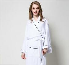 item 7 Womens Ladies Plain Cotton Summer Waffle Bath Robe Dressing Gown  Bride Robe NEW -Womens Ladies Plain Cotton Summer Waffle Bath Robe Dressing  Gown ... f193c008d