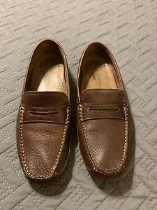 rockport driving moccasins shoes men's sz 12 slip on