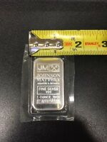 New In mint Packaging Johnson Matthey 1oz.  .999 Fine Silver Bar