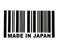 MADE IN JAPAN DECAL STICKER 14 COLORS JDM HONDA MAZDA TOYOTA CAR TRUCK SUV
