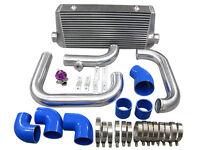 Front Mount Intercooler Kit W/bov Camaro Ls1 Single Turbo-blue