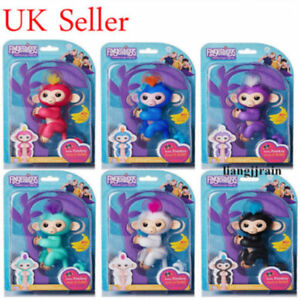 Full-Function-Finger-Monkey-clings-Kids-Xmas-Gift-Creative-Toy-Electronic-Pet