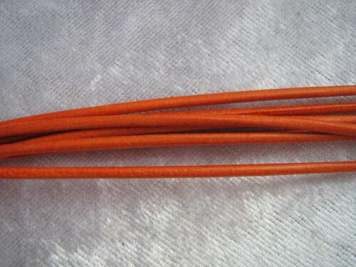 1,5-2 mm viele Farben für Anhänger weiches Ziegen// Rind Lederband 1m Donut