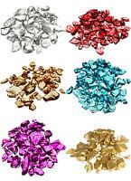 Vase Fillers: Crushed Glass Crystal Sand Shards, 4 Bags (1-lb/bag), Decoration