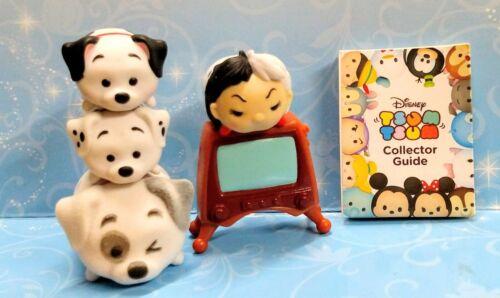 CRUELLA DE VIL PATCH LUCKY ROLLY Tsum Tsum Dalmations vinyl Mystery Stack Disney