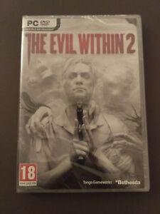 Jeu PC The Evil Within 2, version boîte NEUF