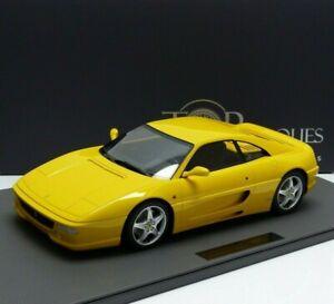 New 1 12 Ferrari F355 Berlinetta Bauj 1994 Yellow Tm12 19b Top Marques Ebay