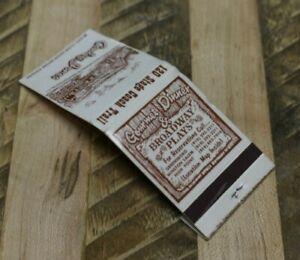 Vintage Matchbook Conley Jones Barn Dinner Theatre ...