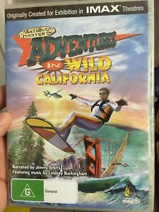 Adventures-In-Wild-California-new-sealed-region-4-DVD-IMAX-documentary